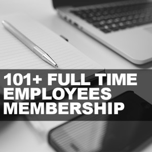 101-Above Full Time Employees