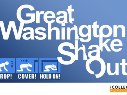 Get Prepped for Great Washington Shakeout on Oct. 17th