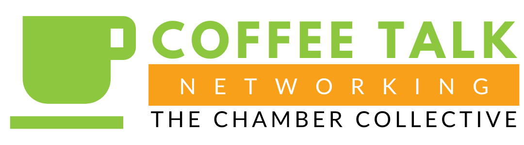 Coffee Talk Networking Logo - The Chamber Collective
