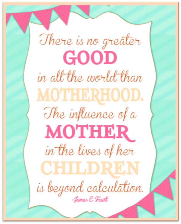 Thought for the day - Mother influence