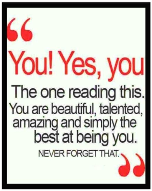 You are beautiful 01