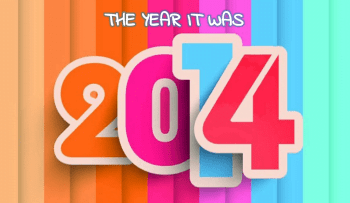 The year it was, 2014!