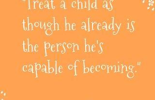 Thought For The Day – Treat A Child