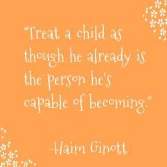 Treat a child