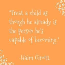 Treat a child
