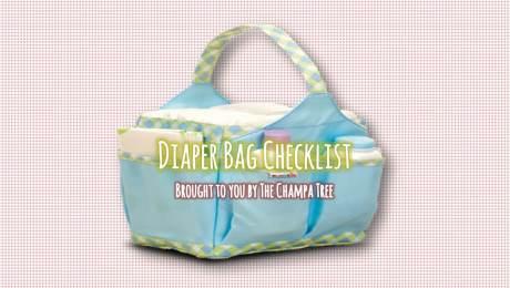 Diaper Bag Checklist 01