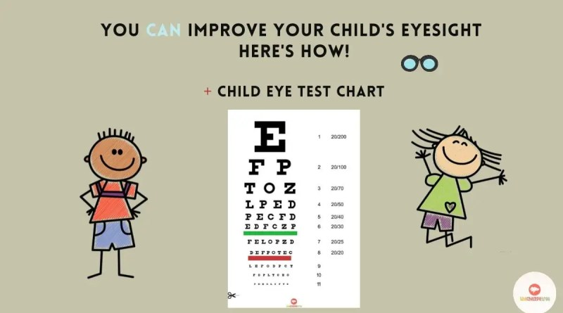 How To Take Care Of Your Child's Eye Vision
