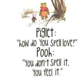 Thought for the day - Spell love 01