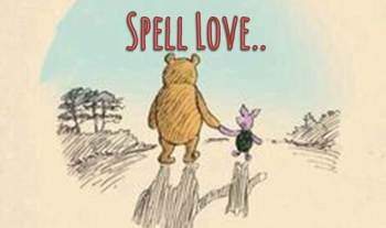 Thought of the day – How do you spell love?
