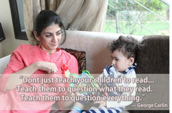 Thought for the day - Teach your children to question