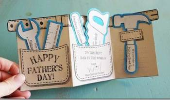 Top 10 Father's Day Cards Using Art And Craft Ideas
