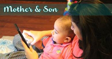 Mother and son 02
