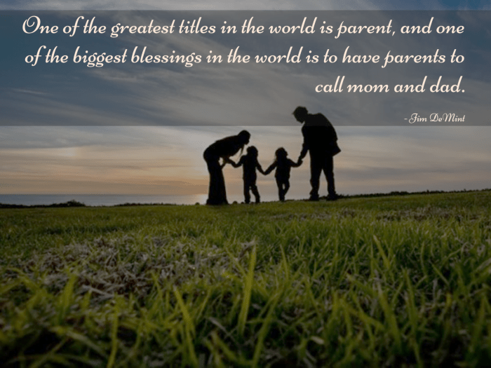 Thought for the day - Parents Day 02