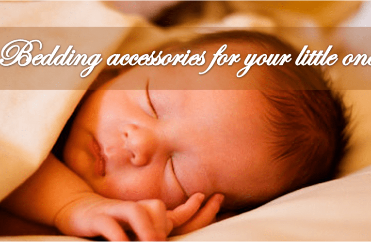 Wooden baby cradle, mattress and other furniture accessories for your little one