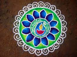 Diwali rangoli designs 16