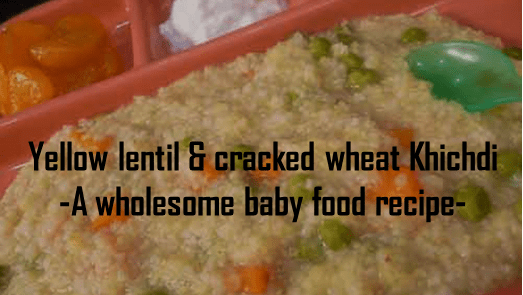 Wholesome baby food recipe 04