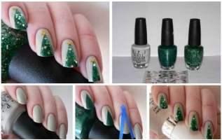 Christmas nail art 02