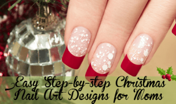 10 Easy Christmas Nail Art Designs For Moms