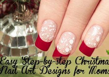 10 Easy Christmas Nail Art Designs For Moms