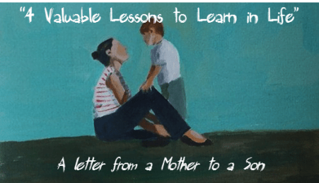 Lessons to learn in life mother son 04