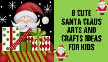 Santa Claus Arts and Crafts 09