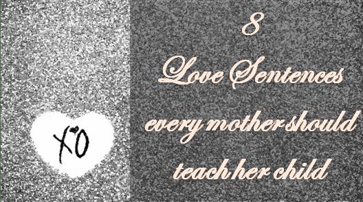 Love sentences teach child 09