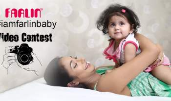 Cute baby video contest from Farlin India