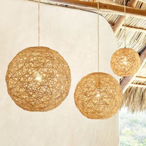 Balloon Lamps to Light the outdoor
