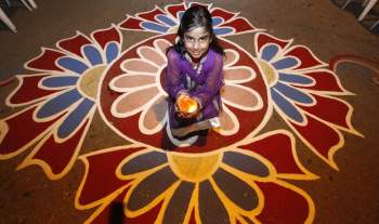 18 Gorgeous Indian Rangoli Designs For Diwali