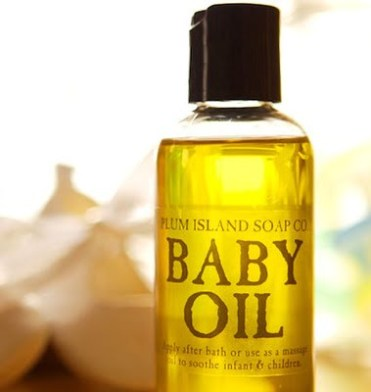 Apply baby oil to protect from harsh colours