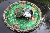 Karwa Chauth Puja Thali Designs 14