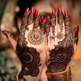 Mehndi designs for karwa chauth 10