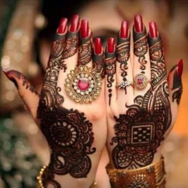 Mehndi designs for karwa chauth 10
