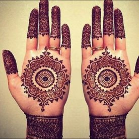 Mehndi designs for karwa chauth 13