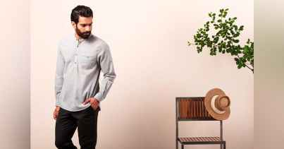 Minimalist Feel with These Easy Breezy Cotton Shirts 01