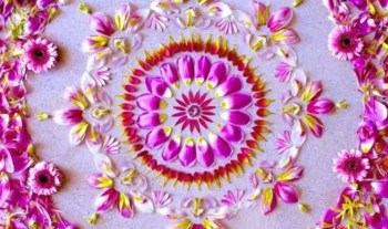 15 Beautiful Diwali Rangoli Designs To Make with Kids