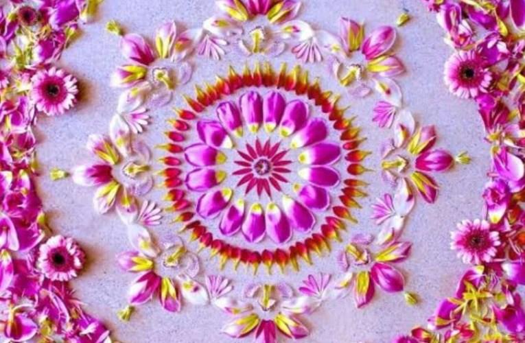 15 Beautiful Diwali Rangoli Designs To Make with Kids