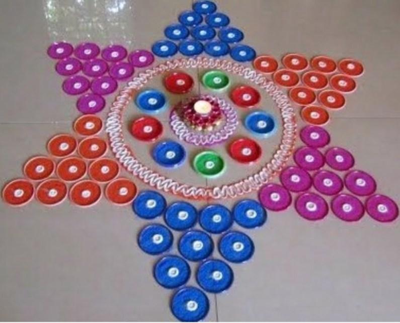 Diwali rangoli designs 32