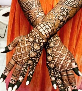 Mehndi designs for karwa chauth 27