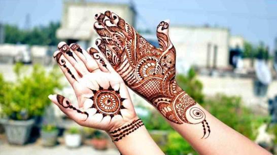 Mehndi designs for karwa chauth 42
