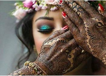 30 Pretty Mehndi Designs For Karwa Chauth