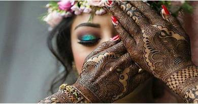 Mehndi designs for karwa chauth 49