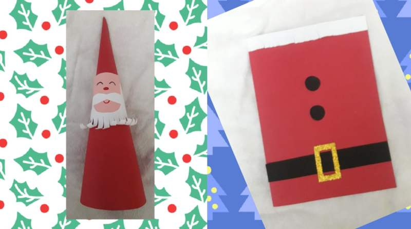 Santa Claus Arts: 2 Easy and Crafty Ideas For Christmas 2019 - TCT