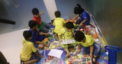 Kids playing in the play school - Importance Of Play School
