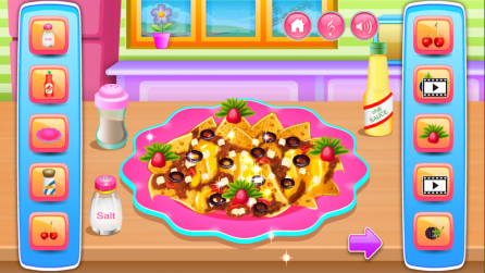 Online games for girls -Cooking game