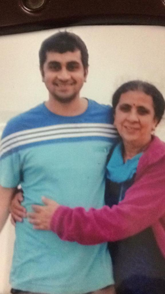 During COVID-19 Lockdown - A Letter To My Son - A mother with her grown-up son