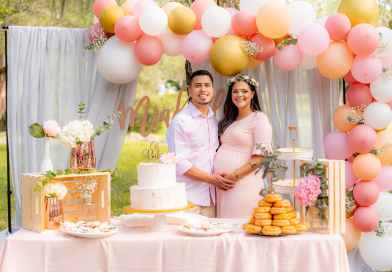 How to get pregnant - A couple on their baby shower day