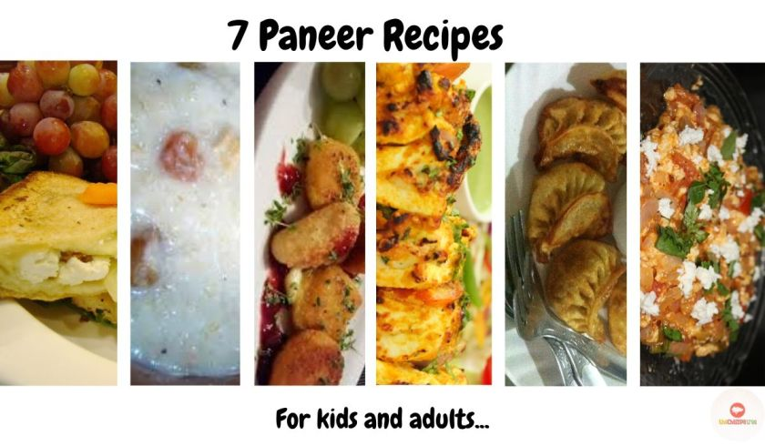 Easy paneer recipes - 7 paneer recipes