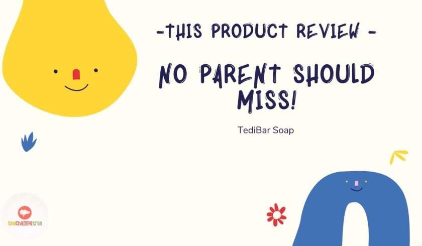 Teddy Bear Soap - TediBar Soap Product Review