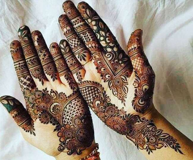 Intricate Indian mehndi